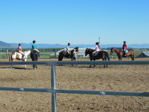 jumping lesson with In Motion Sport Horses, LLC