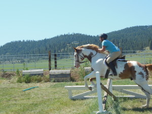 Horseback riding instruction with Carrie Allen