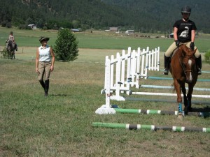 In Motion Sport Horses instructor, Carrie Allen