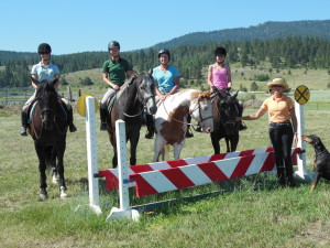 Jumping Clinic With Clinician Carrie Allen