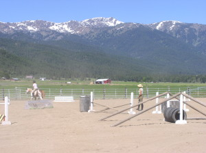 Schooling Fences with Carrie Allen